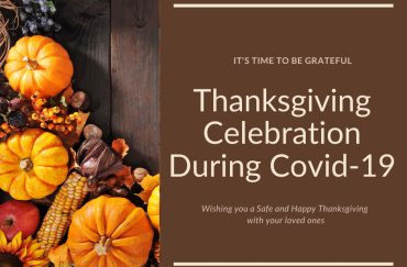 Safe and Happy Thanksgiving Celebration During COVID-19